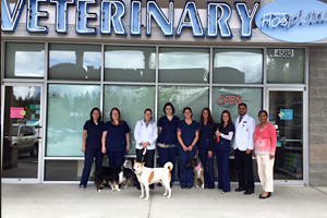 Issaquah Veterinary Pet Hospital Staff